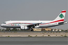 Middle East Airlines Airbus A320 KvW.jpg
