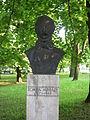 Mihály Tompa statue, Miskolc, Népkert.jpg