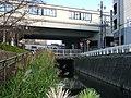 Mikawa-Anjo Station to evade for Meiji Irrigation.jpg