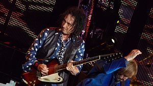 Mike Campbell (musician) - The Gorge, June 2010.