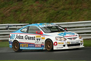 Mike Jordan (racing driver) - Jordan competing in the 2007 British Touring Car Championship.