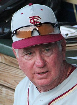Florida State Seminoles - Martin is the second-winningest coach in college baseball history.