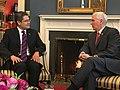 Mike Pence and Juan Orlando Hernandez at VP Office - 2017.jpg