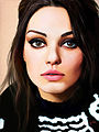 Mila Kunis - Digital painting (7050595787).jpg