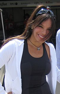 Milka Duno Venezuelan racing driver and model