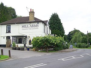 Dunbridge - Image: Mill Arms, Dunbridge geograph.org.uk 889643