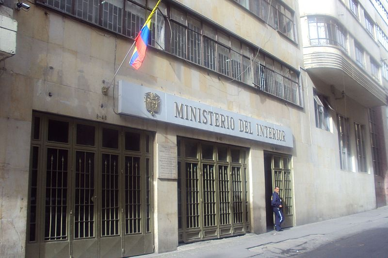Ministerio de trabajo colombia wikipedia la share the for Ministerio del interior empleo
