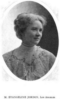 Minnie Evangeline Jordon American dentist