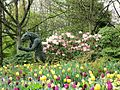 Minotaur among the tulips.jpg