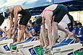 Missy Franklin at start of 200 IM (8990376523).jpg