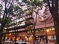 Miyagi Prefectural Auditorium viewed from a greenway in Jozenji-dori avenue.JPG