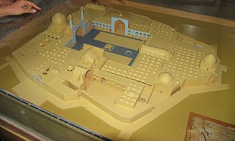 Jameh Mosque of Isfahan - Image: Model of Jame Mosque