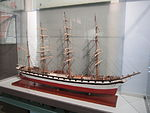 Model of Wanderer (ship, 1891), Merseyside Maritime Museum (2).JPG