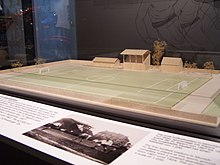Model of stadium at Leopoldstrasse.JPG