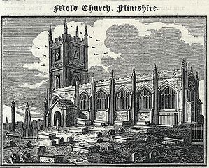 Mold Church, Flintshire