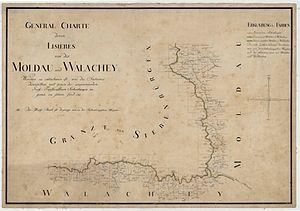 Runcu, Gorj - Image: Moldau und Walachey Josephinische Landesaufnahme