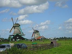 Paisaje típico holandés