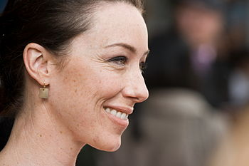 English: A Canadian actress Molly Parker at th...