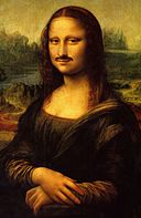 Mona Lisa moustache
