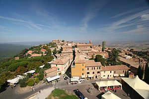 Montalcino - View from the Fortress.