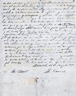 Manifiesto de Montecristi. Documento oficial del Partido Revolucionario Cubano