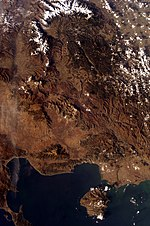 Montes Ródope nevados ESC large ISS010 ISS010-E-8228.JPG