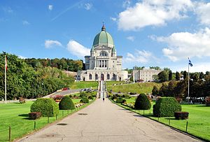 Saint Joseph's Oratory - In the year 2008