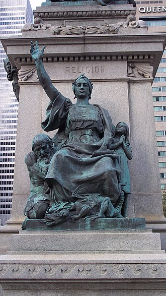 Ignace Bourget Monument - Religion