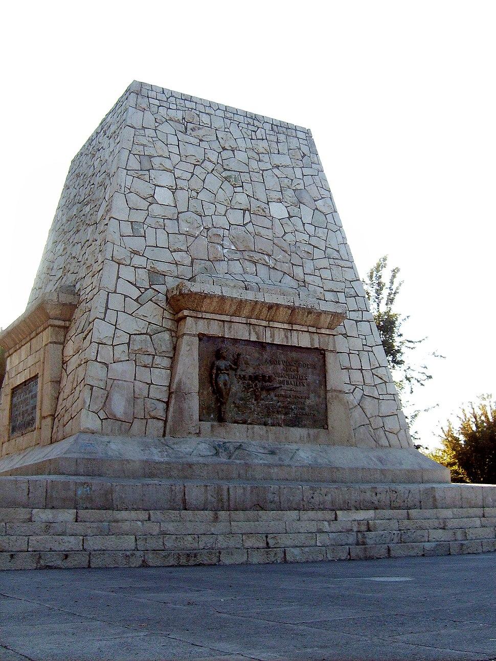 Monumento Vencedores Bailén