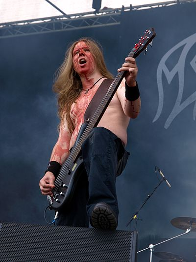 Ville Sorvali, co-founder of the Viking metal band Moonsorrow Moonsorrow MTR 20110617 06.jpg
