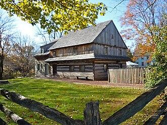Towamencin Township, Montgomery County, Pennsylvania - Edward Morgan Log House