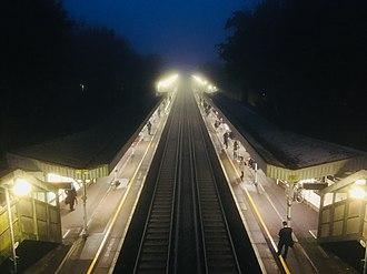 Burgess Hill railway station - Image: Morning @ BUG