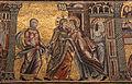 Mosaici del battistero di firenze, storie di maria e gesù, 1250-1330 ca., 02 visitazione, attr. a cimabue, con restauri.JPG