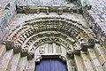 Mosteiro de San Lourenzo de Carboeiro - Monasterio de San Lorenzo de Carboeiro - Monastery of Carboeiro - Exterior - 05 - Porta da nave central.jpg