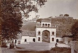 View of Moula Ali Hill, circa 1902