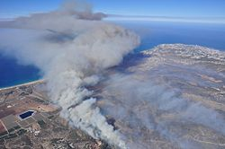 Mount Carmel forest fire32.jpg