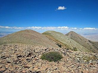 Mount Ellen (Utah) - Mount Ellen Ridge