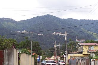 Northern Range - Image: Mount St Benedict 1