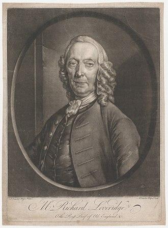 Richard Leveridge - Leveridge in old age, by Frans van der Mijn