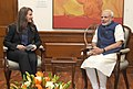 Mrs. Melinda Gates, Co-founder of the Bill & Melinda Gates Foundation meeting the Prime Minister, Shri Narendra Modi, in New Delhi on April 20, 2015.jpg