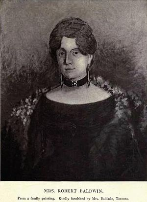 Robert Baldwin - Mrs Augusta Elizabeth Baldwin