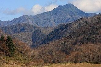 Mount Kamui (Urakawa-Hiroo) - A view from Motourakawa River