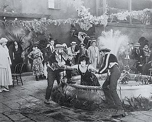 Mud and Sand - Publicity photo depicting a scene from the film.