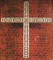 Muenchen Laim Paul-Gerhardt-Kirche Triumphkreuz.JPG