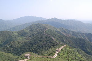 Factoid - The Great Wall of China is often incorrectly said to be visible from the Moon with the naked eye.