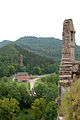 Muraille et alentours du château du Fleckenstein, Parc naturel des Vosges du Nord.jpg