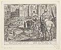 Muren van Babylon Septem orbis admiranda (serietitel) De zeven wereldwonderen (serietitel), RP-P-OB-38.216.jpg