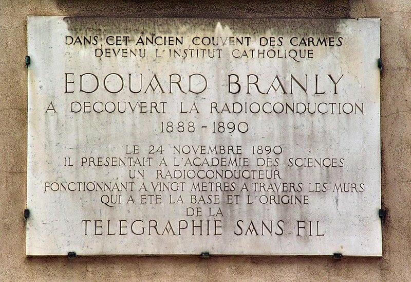 File:Musée Edouard Branly plaque.jpg