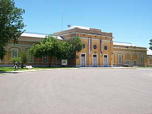 North Argentine Railway - San Juan train station, former terminus and a museum nowadays.