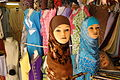 Muslim Women's Wear on Display - Tangier - Morocco.jpg